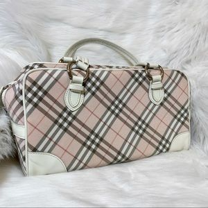 Burberry Blue Label Boston Bag